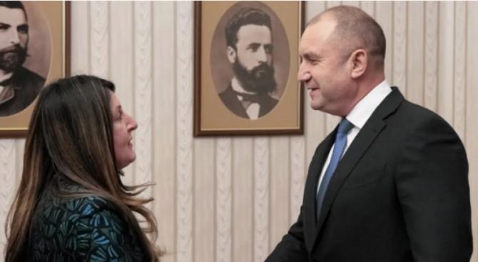 Румен Радев се срещна с посланик Херо Мустафа