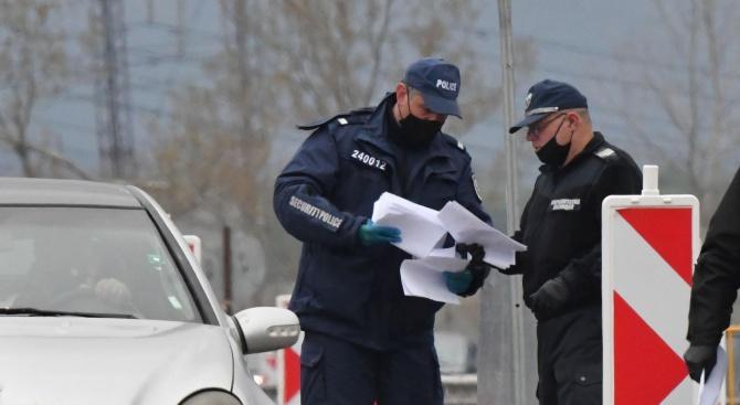 Хванаха нарушители при проверка на декларации от КПП-тата в Разград