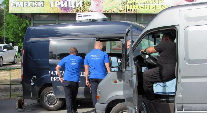НАП затвори зеленчуковата борса в Русе