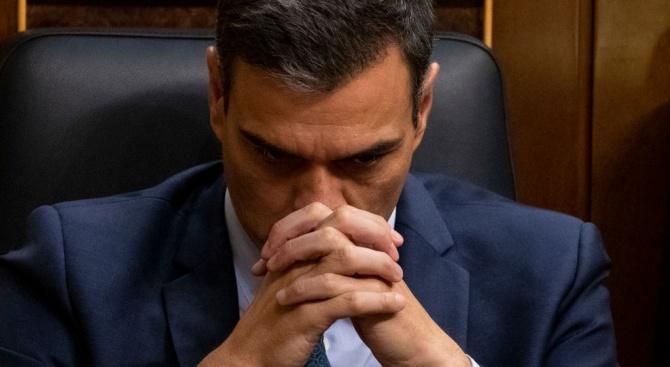 Испанският премиер Педро Санчес обяви днес, че иска да продължи