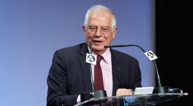 """Ръководителят на европейската дипломация Жозеп Борел призова европейците """"да поддържат"""
