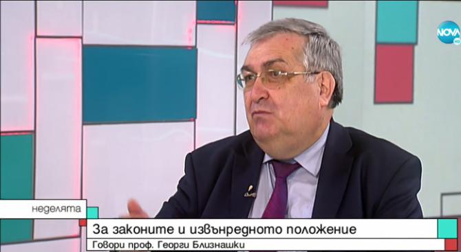 Проф. Георги Близнашки: Румен Радев се превръща във все по-голям проблем за държавата