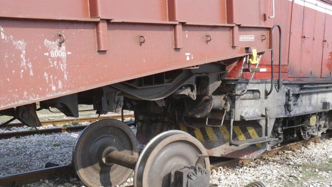 До два дни премахват дерайлиралите вагони край гарата в Нова Загора