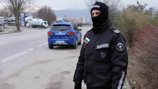 Жандармерия блокира село в Плевенско