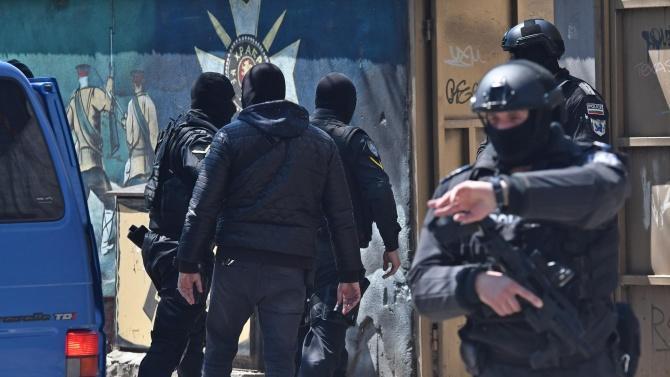 Акция на Специализираната прокуратура и Столичната полиция се извършва в