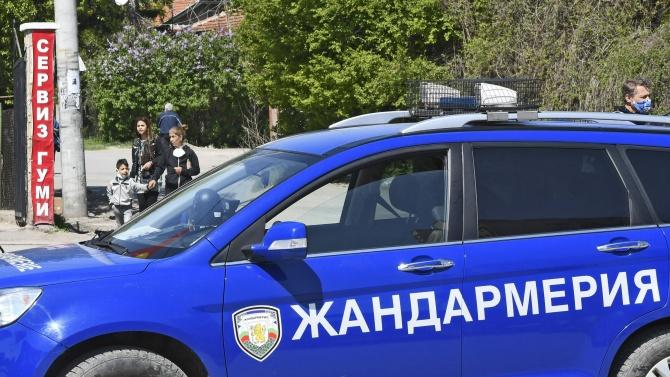 """Специализирана полицейска операция се провежда в ромския квартал """"Нов път"""""""