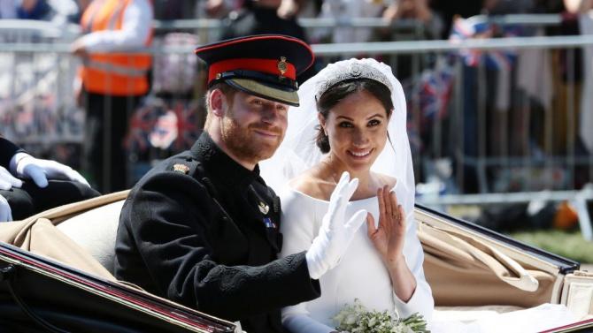 Принц Хари и Меган Маркъл отбелязват две години от сватбата си