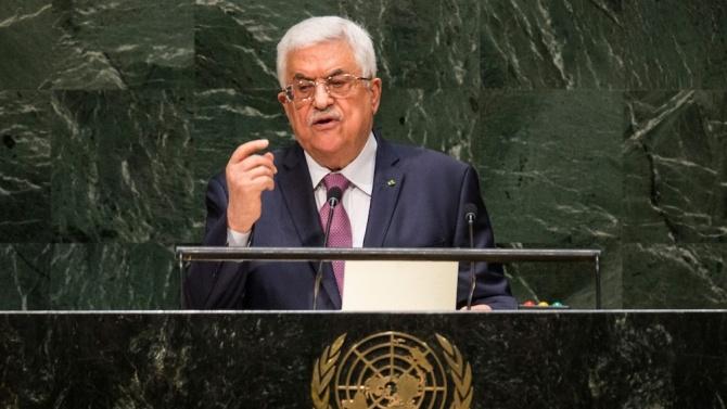 Палестинският президент Махмуд Абас: Няма да спазваме споразуменията с Израел и САЩ
