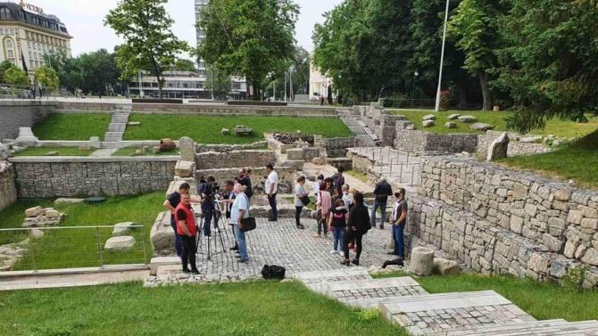 """Започват археологическите проучвания на """"Форума – изток и юг"""" и могилата """"Малтепе"""" в Пловдив"""