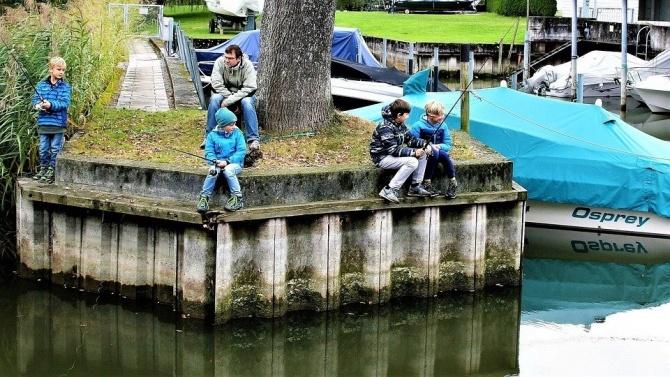 Неделно училище по риболов за деца отваря врати в Русе
