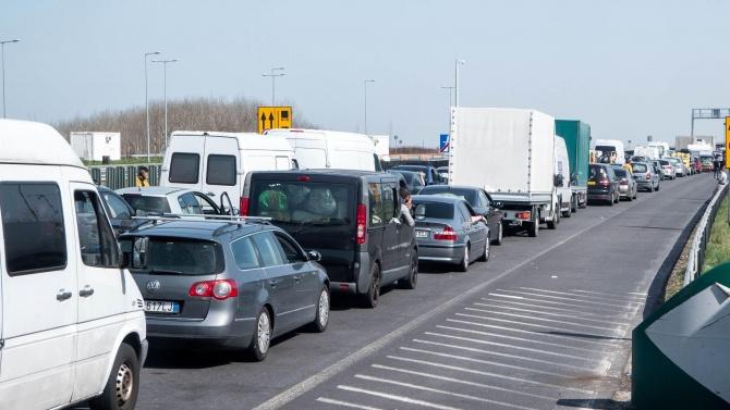 Румъния вече позволява свободен сухопътен транзит на българските граждани, които