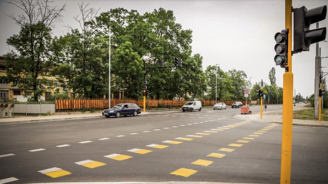 """Възстановено е движението по бул. """"Искърско шосе"""""""