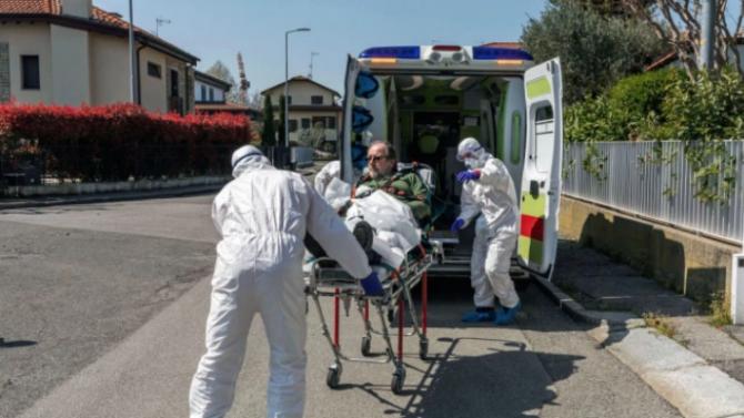 Броят на починалите от COVID-19 в Италия за последните 24