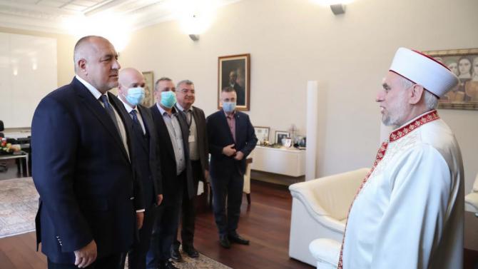 Молитвите за Рамазан Байрам ще се провеждат на открито, договориха се Борисов и главният мюфтия