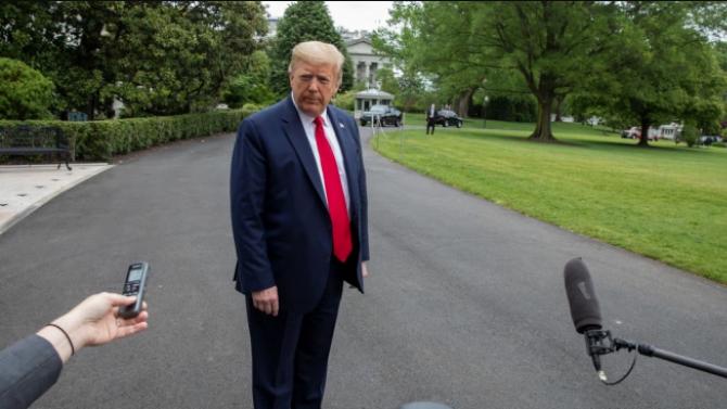 Тръмп няма да затвори отново страната при втора вълна на COVID-19