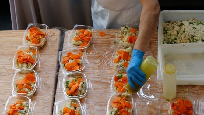 Община Видин получи дарение от хранителни продукти