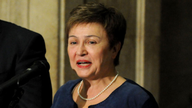 Управляващият директор на Международния валутен фонд (МВФ) Кристалина ГеоргиеваКристалина Иванова