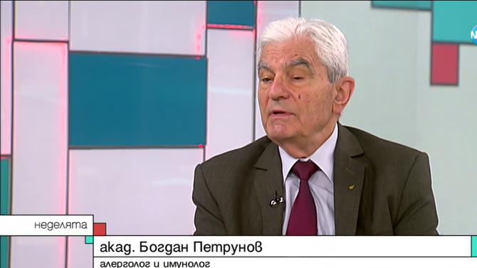 Акад. Богдан Петрунов: Не е доказано, че можем да разчитаме на антителата, създадени след зараза с COVID-19