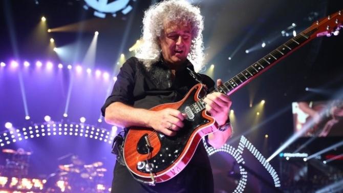 Китаристът на Queen Брайън Мей разкри, че е бил в