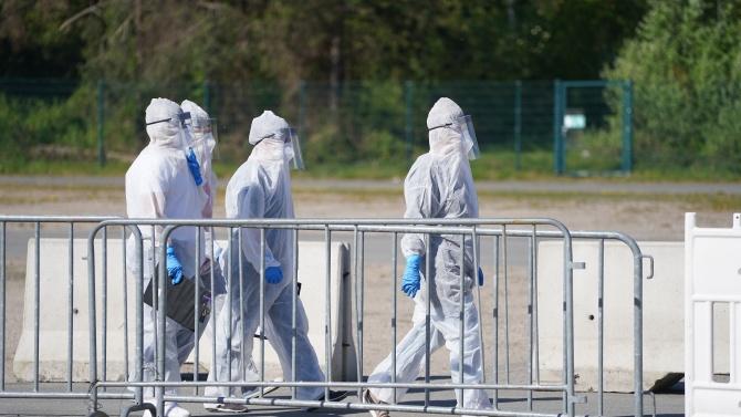 Броят на потвърдени случаи на коронавирус в Германия нарасна с