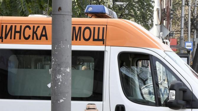 Работник пострада при злополука в Трявна