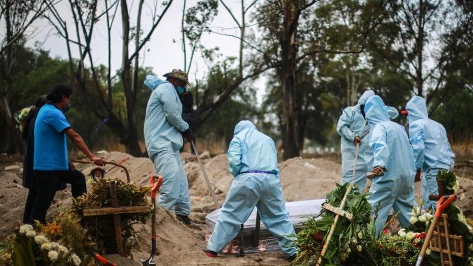 Мексико с антирекорд за починали от COVID-19 за денонощие