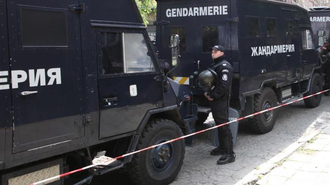 "След наркоудара: Жандармерия блокира улица в ""Студентски град"""