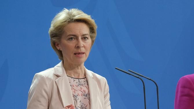 Европа трябва да тръгне напред, това е казала председателката на