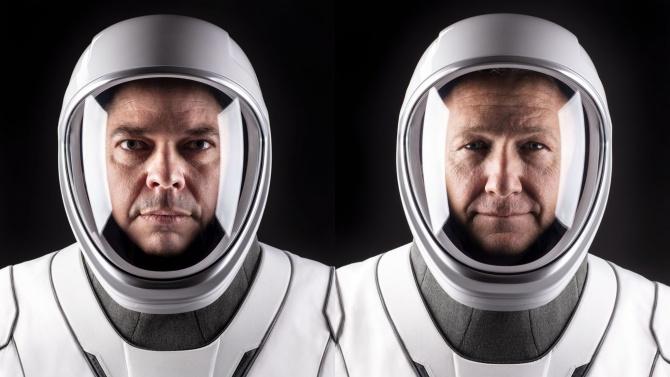 НАСА ще изстреля SpaceX с двама астронавти