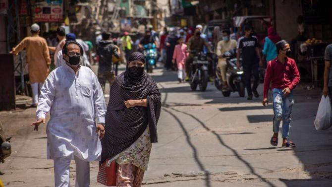 Броят на заразените с коронавирус в Индия надхвърли 158 000
