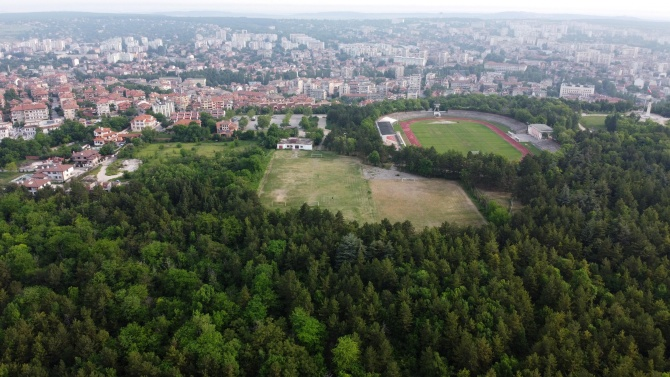 В Хасково протестираха срещу застрояването на парк