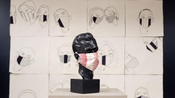 Чешкият национален музей изложи маски по време на пандемията