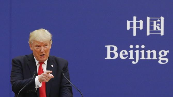 Тръмп ще говори пред журналисти за Китай