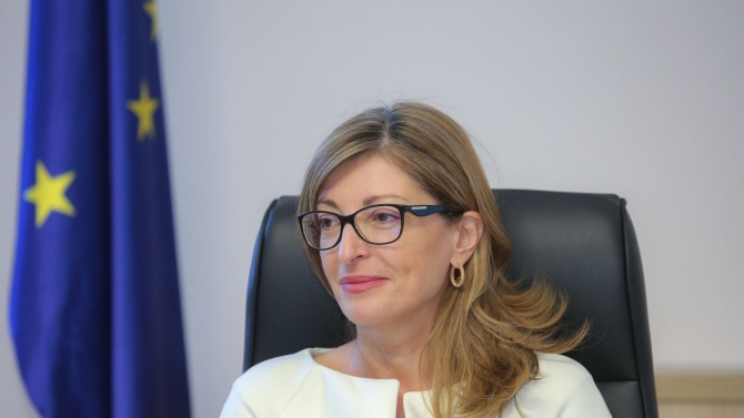 Външният министър Екатерина Захариева Екатерина Захариева е заместник министър-председател по