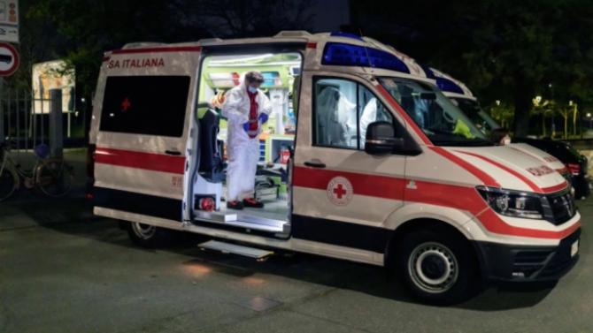 111 починали от COVID-19 за последното денонощие в Италия