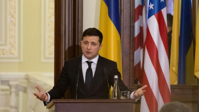 Украинският президент  е милионер
