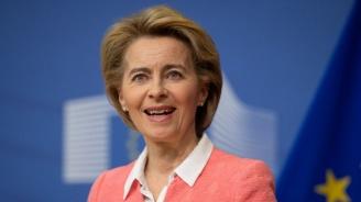 Фон дер Лайен: Евросредствата за България се увеличават