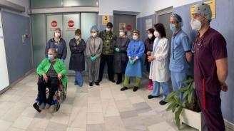 75-годишна пребори коронавируса след 33  дни на апаратно дишане