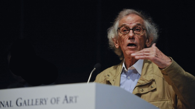 Световноизвестният художник Христо Явашев - Кристо, който почина вчера в