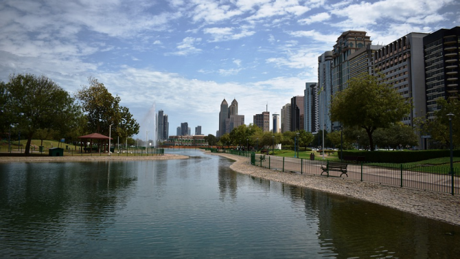 Абу Даби, столицата на Обединените арабски емирства и на едноименното