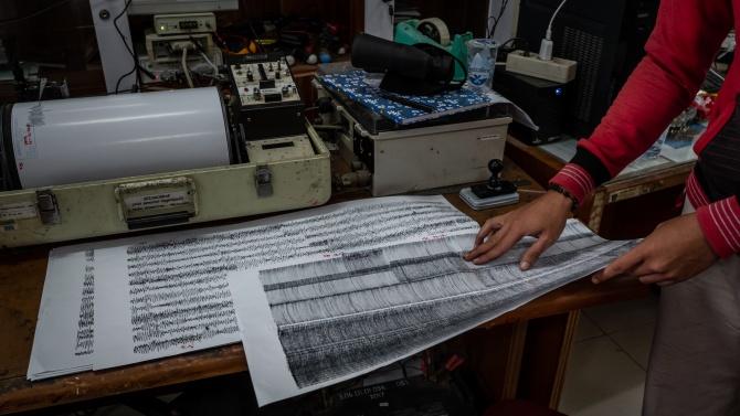 Земетресение с магнитуд 5,6 стана край бреговете на остров Тонга,