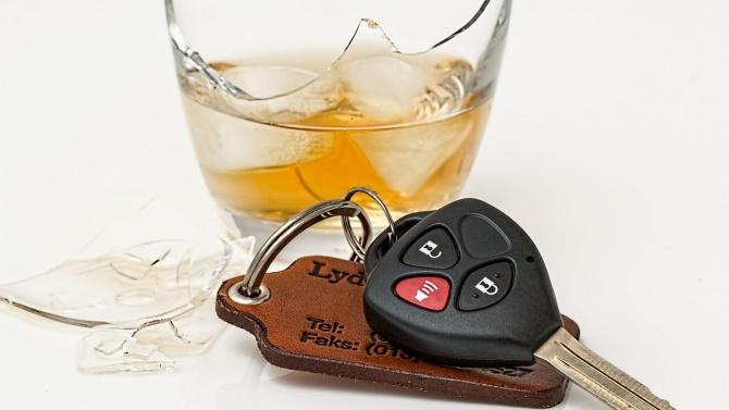 В Търговище е задържан неправоспособен, шофирал с 2,19 промила алкохол.