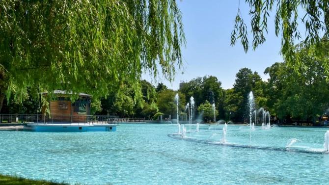Пеещите фонтани на Пловдив отново работят