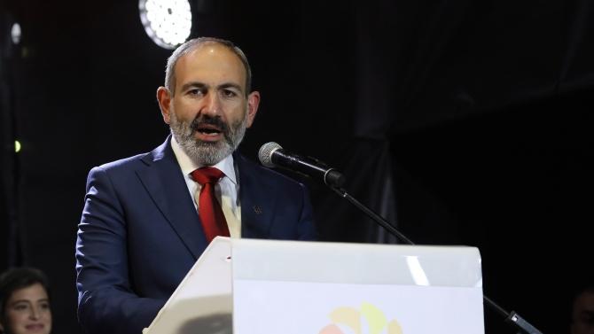 Арменският премиер Никол Пашинян може да посети Москва на 24