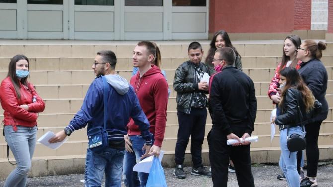 1 430 ученици в Хасковска област се явиха на първия
