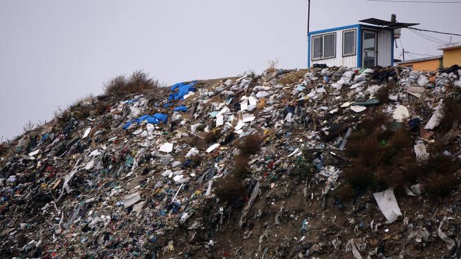 РИОСВ-Плевен с информация за открития край Червен бряг боклук