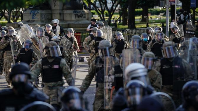 Демократите заклеймиха действията на Тръмп в кризата с протестите