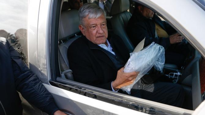 Президентът на Мексико Андрес Мануел Лопес Обрадор положи днес началото