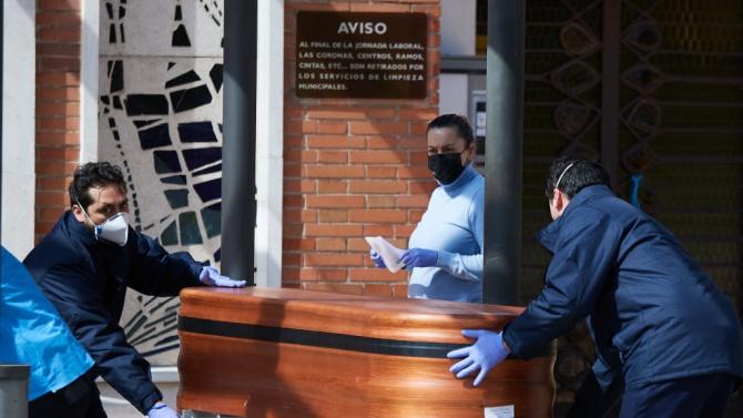 От Асоциацията на погребалните услуги в Испания излязоха с проучване,