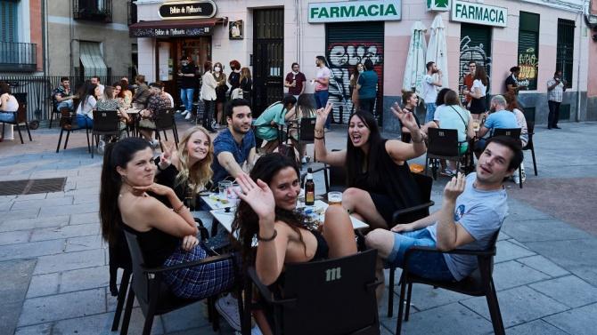 В Испания за втори пореден ден не са регистрирани нови